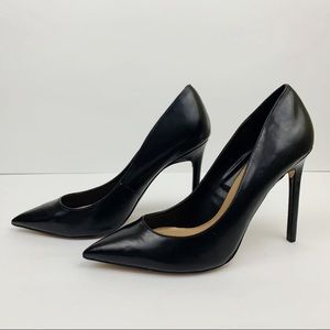 Express Black Heels Pointy Toe Size 8